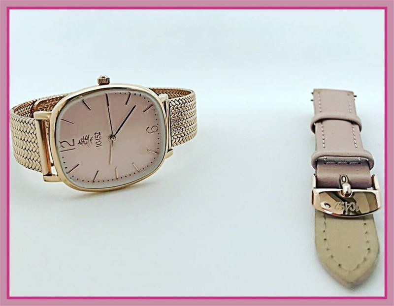 Wishing you a  pinky  weekend  new  10452DNA  watch  slim  collection ... (Beirut, Lebanon)
