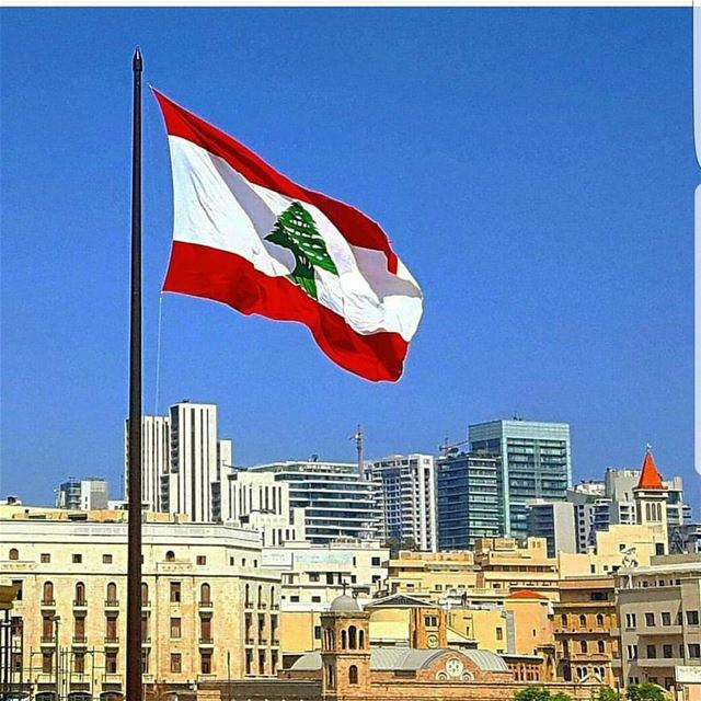 Goodmorning LEBANON❤Happy independence day❤ morningpost  patriotism ... (Beirut, Lebanon)