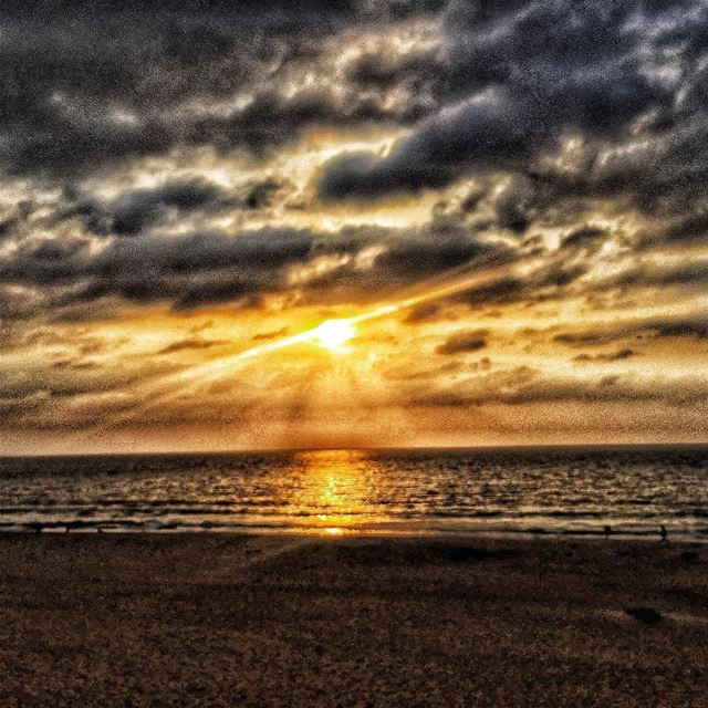 lebanon  beautiful  beirut  sunset  sea  sun  clouds  beach  picoftheday ...