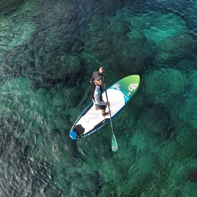 We dream in colors borrowed from the sea. 🏄  standuppaddle  paradise ...