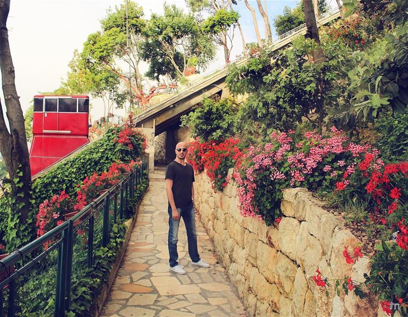 - Colourful Way Up-... livelovejounieh  harissa  jounieh ... (Harisa, Mont-Liban, Lebanon)