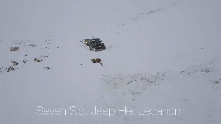 O|||||||O Her snowing  lebanon  jeeps  mountains  jeep  offroad  wrangler ...