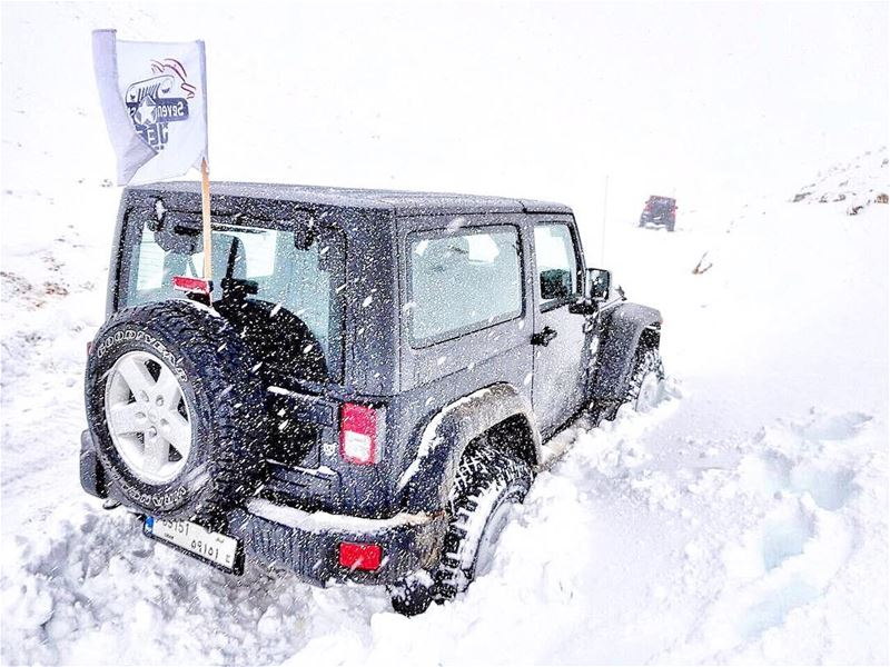 O|||||||O Her 🌨❄️  lebanon  mountains  jeep  offroad  wrangler  jeeplife ...