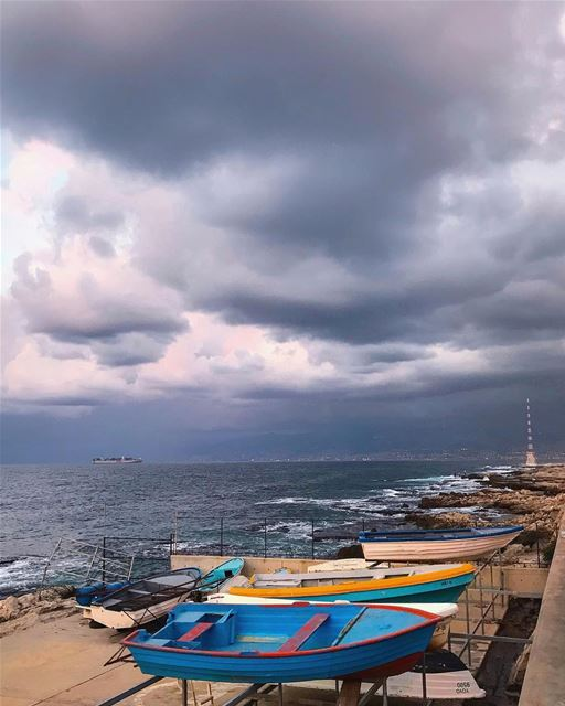 You are the sky. The clouds are what happens, what comes and goes -... (Beirut, Lebanon)