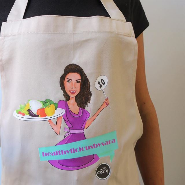 Finally got my apron from @cari_q_  through a give away with @spatulicious... (Hadath)