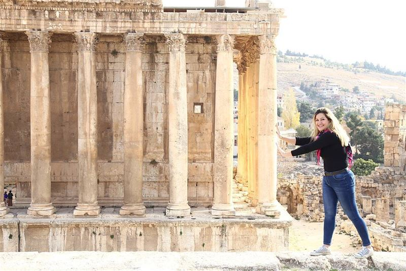 """Believe in yourself! Have faith in your abilities! Without a humble but... (Baalbeck, Béqaa, Lebanon)"