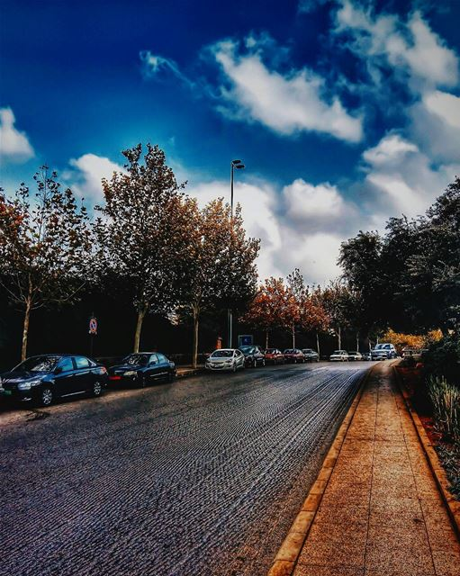 When life gets blurry adjust your focus.•••• lebanon beirut street... (Beirut, Lebanon)