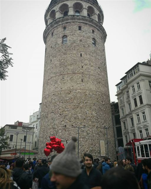 Hearts of Galata -  ichalhoub in  Istanbul  Turkey shooting with a mobile...