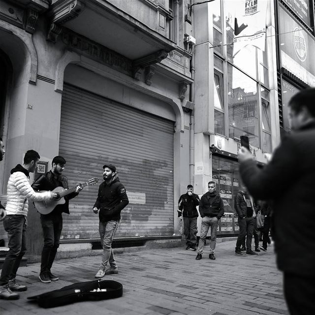 Streets are for music -  ichalhoub in  Istanbul  Turkey shooting with a...