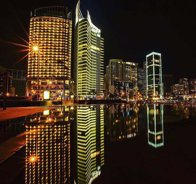night  skyline  buildings  building  longexposure  beirut  beiruting ...
