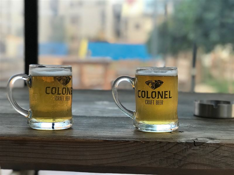 Another  beer experience  colonel  brewery  batroun  lebanesebucketlisters... (Colonel Beer Brewery)