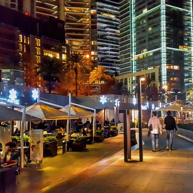 Evening strolls  Beirut  Lebanon  livelovebeirut  livelovelebanon  city ... (Beirut, Lebanon)