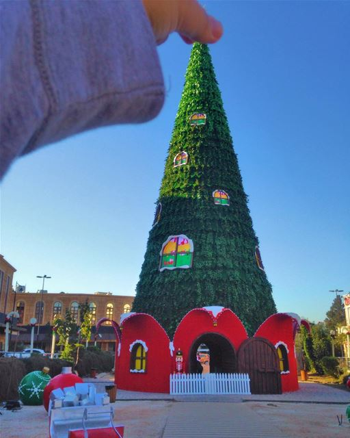 From last year Christmas decorations!  PeterWenMaken , starting tomorrow, ... (Jbail, Mont-Liban, Lebanon)