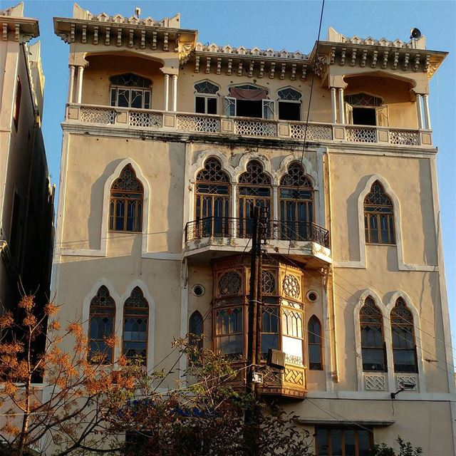 Tripoli's many traditional historic buildings.  traditionalbuilding ... (Tripoli طرابلس الفيحاء)