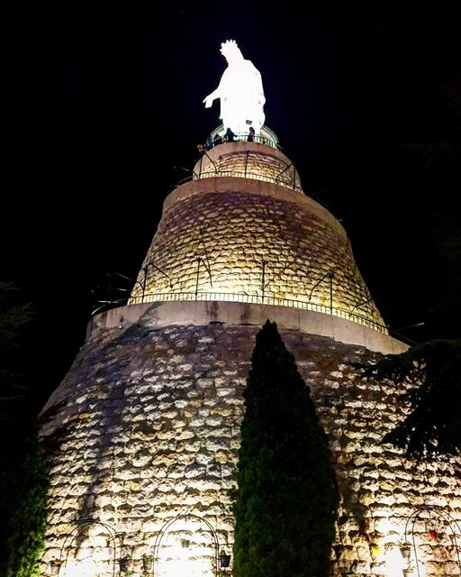 Always stay close to this Heavenly Mother, because she is the sea to be... (Our Lady of Lebanon)