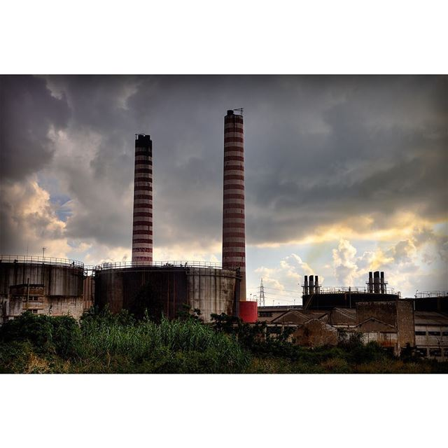 travel  old  powerplant  travelphotography  lebanon  lebanonisbeautiful ... (Zouk Mikael)
