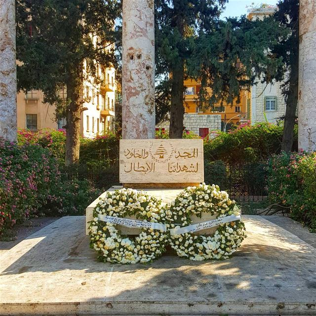 Good morning with this sorrowful tribute to our heroes. Thousands of... (National Museum of Beirut)