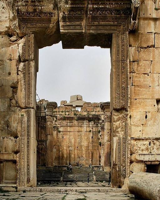 Good Morning Baalbeck 😊😊😊 Baalbeck Temples Castle Proud International... (Temple of Bacchus)