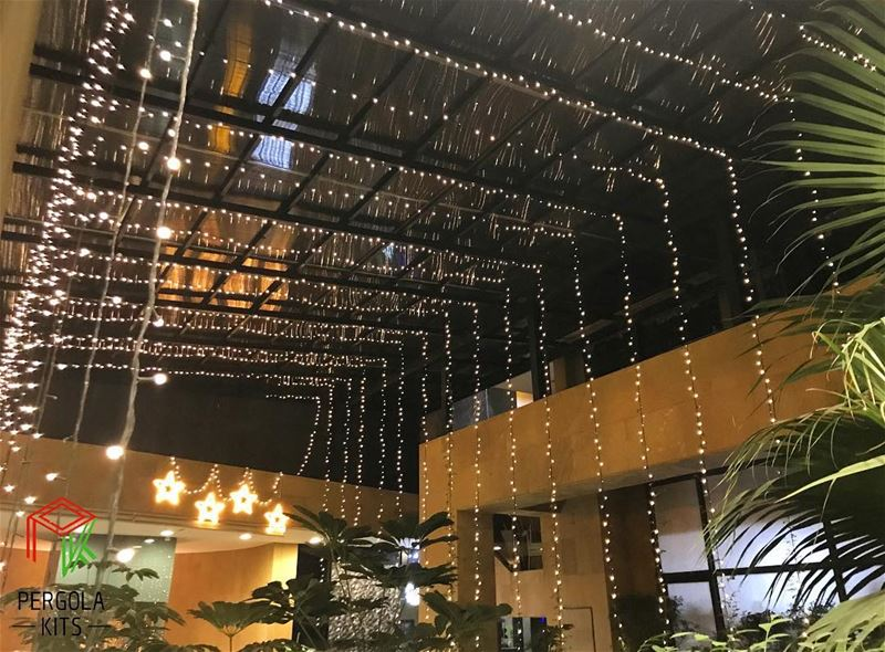 It's the Most wonderful time of the Year✨ PergolaKitsLebanon. Pergola ... (Blueberry Square)