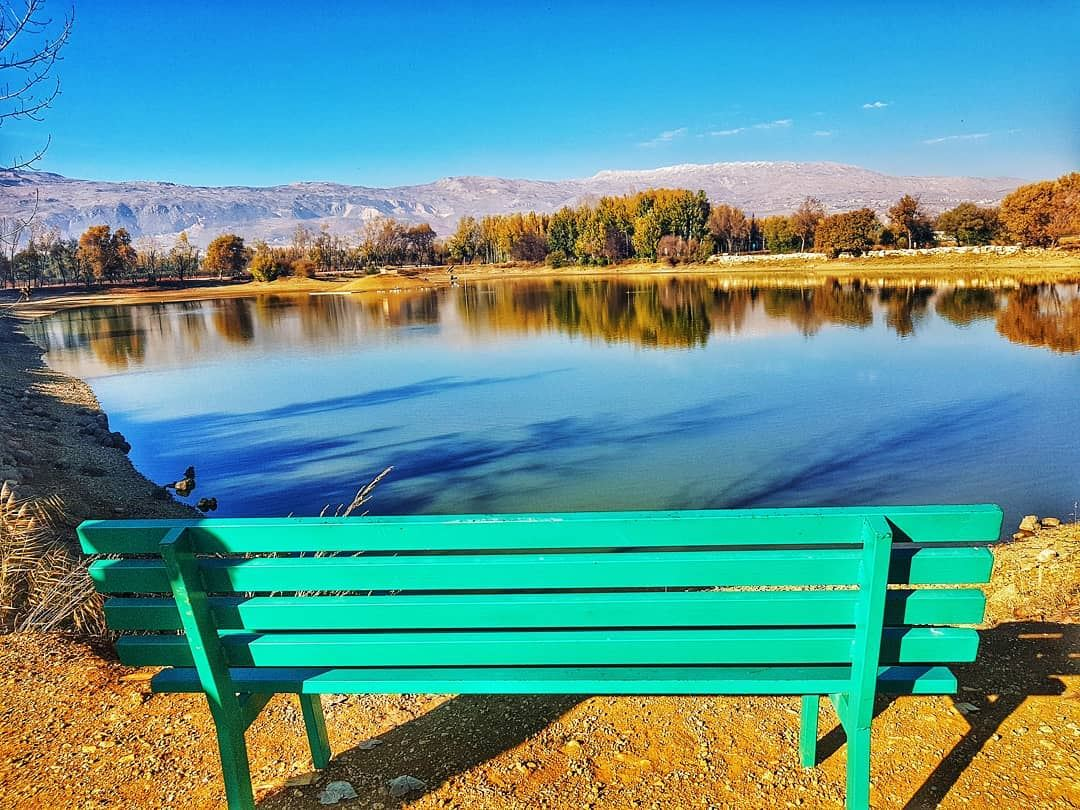 Turn off your phone📵Have a  seat 🎎Enjoy the  view🏞Be grateful 🙏&... (Taanayel- Bekaa)