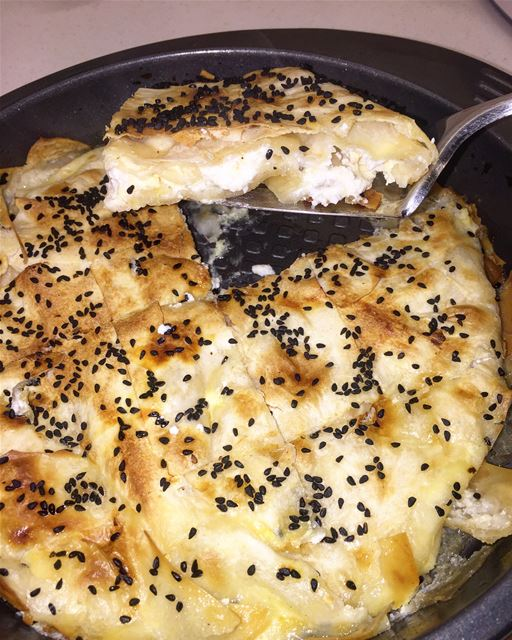 yummy  turkish  food  homemade  borek  cheese  sodelicious  like4like ...