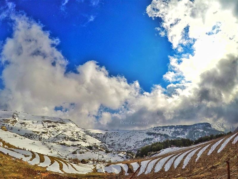 ...There is no better designer than nature..... livelovelebanon ... (Tannourine Mountain View)