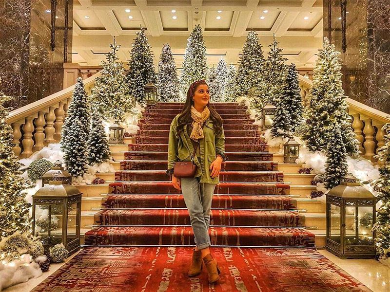 🎁Christmas spirit all around🎁 Christmas Christmastime Christmasseason... (Phoenicia Hotel Beirut)