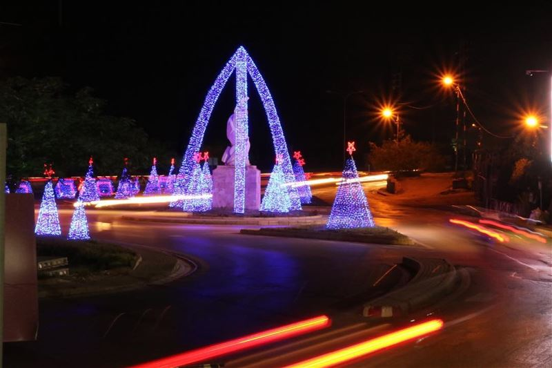 christmas  winter  instagood  happyholidays  lights  tree  decorations ... (Byblos - Jbeil)