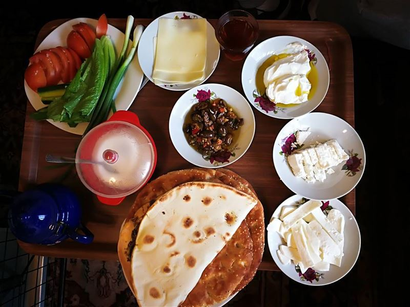 morning  lebanese  ترويقة  breakfast  light  work  sleepy  goingout  bed ... (Nabatîyé)