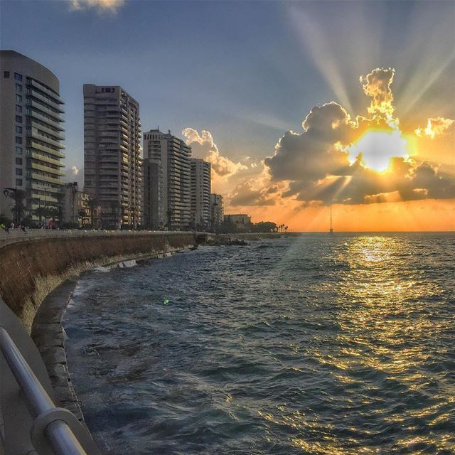 Watch more sunsets than Netflix!... (Beirut, Lebanon)