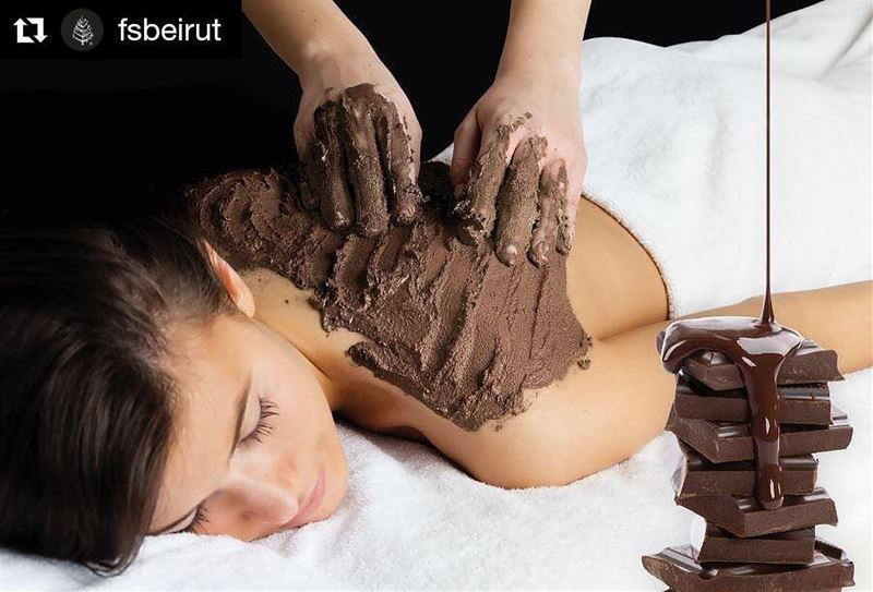 Sure, everyone loves chocolate, but slathering it all over your body? That' (Four Seasons Hotel Beirut)