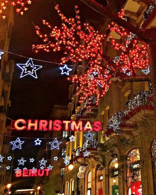 Christmas is joy, religious joy, an inner joy of light and peace ~ Pope... (Downtown Beirut)