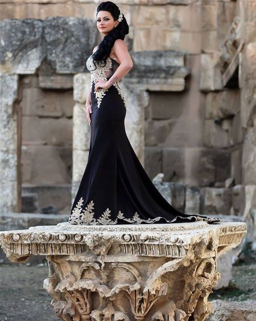 A Queen in Baalbeck Temples 👸 by Studio Magic Color Baalbeck Temples... (Baalbek , Roman Temple , Lebanon)