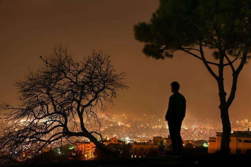 A  view of  beirut from  baabda✨.... photography photographer... (Beirut, Lebanon)