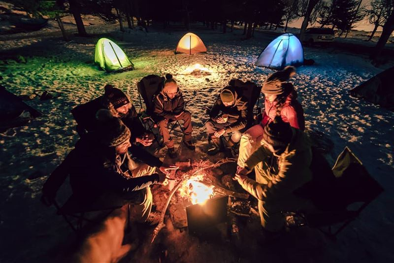 Happy hour🔥.... camping campinglife camp campfire friends fire tents...