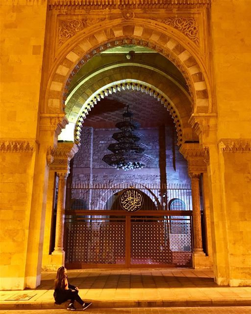 Good night everyone! Today was my last working day of the year! Yey! I am... (Downtown Beirut)