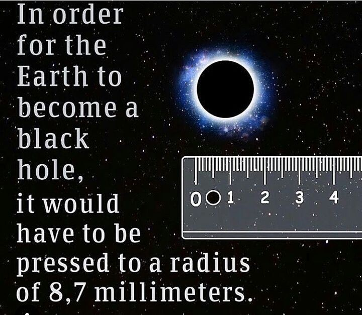 Some facts...  facts  blackhole  space earth  photooftheday  knowledge ...