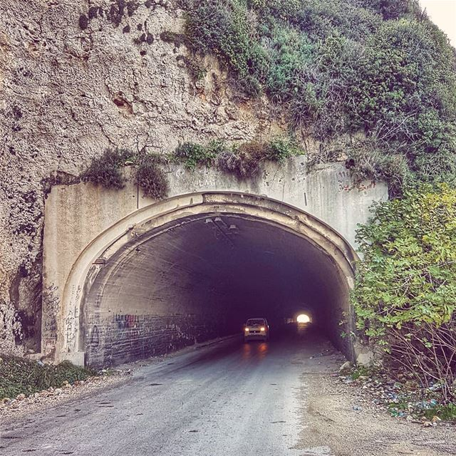 The old tunnel in chekka  old  heritage  chekka  livelovebeirut ... (Enfeh)