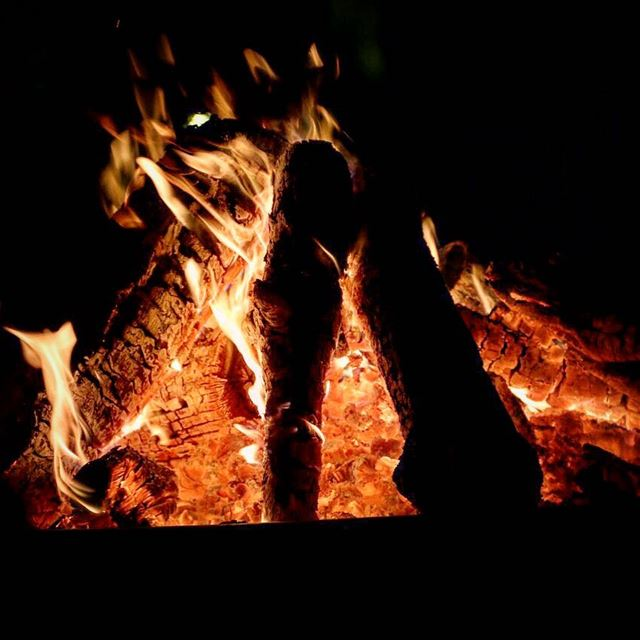 The flame is still there... yet we feel the cold...The flame is still... (`Anjar, Béqaa, Lebanon)