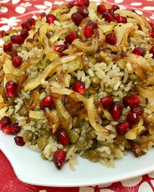 Mujaddara.You can make it either with bulgur or rice. lebanoneats ...