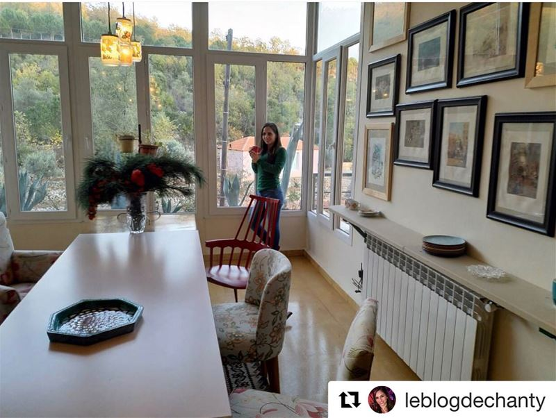 Repost @leblogdechanty・・・I had a wonderful time at Beit El Qamar, the...