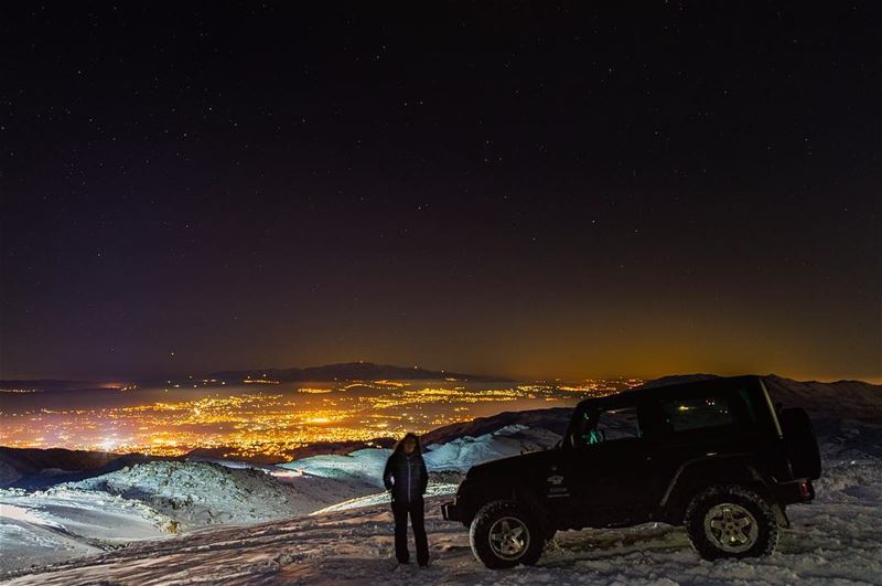 Home  lebanon  snow  mountains  scenery  night   offroad  offroading ... (Mount Sannine)