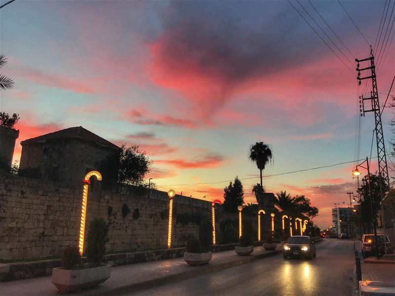 Fire in the sky🔥 ... (Byblos)