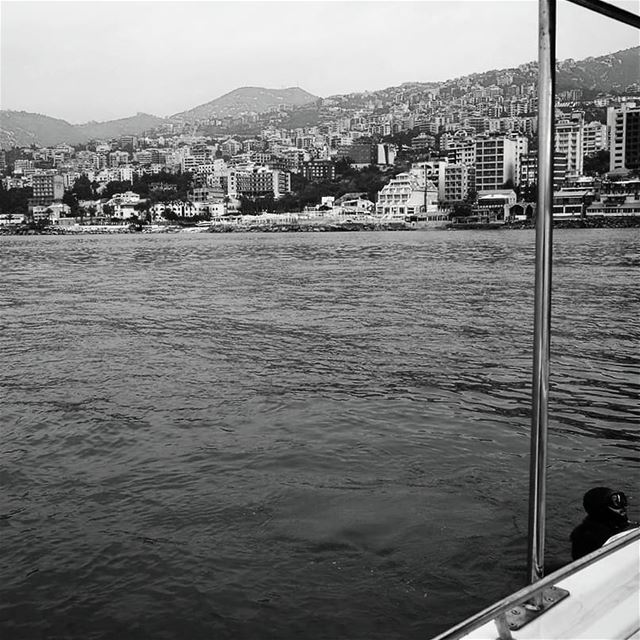 Who needs colors? -  ichalhoub in  jounieh  Lebanon shooting with a ...