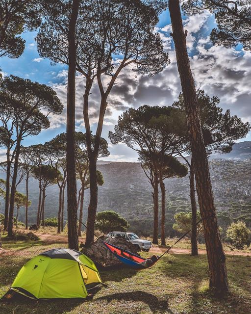 Morning everyone 🙋🏼‍♂️ ☀️ 🏕 Ending the year the way I started it ! 🙆🏼 (Baabda District)
