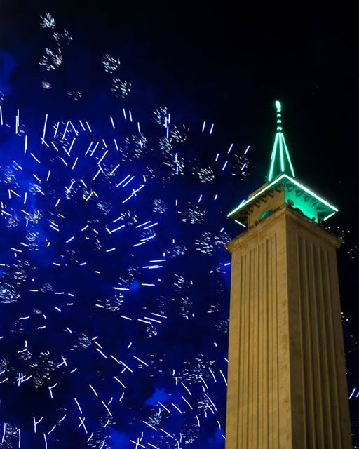Off to a New Year. 🎆  rookietographer ..... .. happynewyear2018 ... (Downtown Beirut)