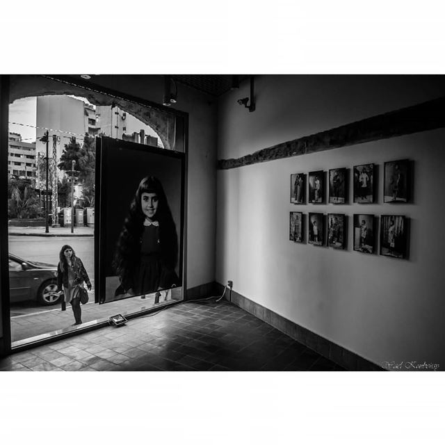 The photo mario archive project in beit beirut (barakat building facing... (Beit Beirut)
