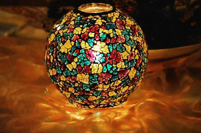 Fire Ball... candlelit fire light ball candle candleholder christmas...