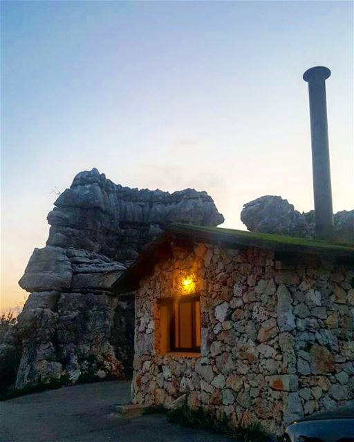 Little house on the rocks :)  newyear ......... newyearseve ...