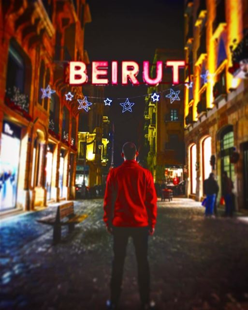 No matter where u live BEIRUT will always be your hometown ❤️By @beatrice_ (Downtown Beirut)